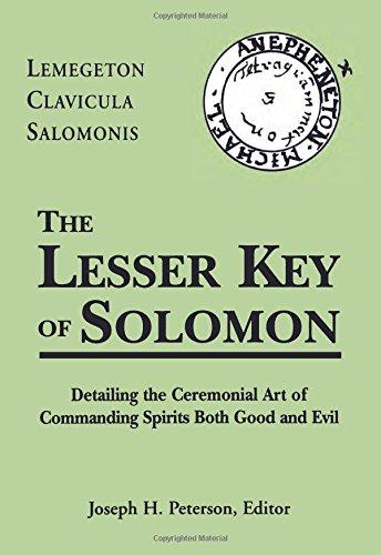 Lesser Key of Solomon Hb: Lemegeton Clavicula Salomonis