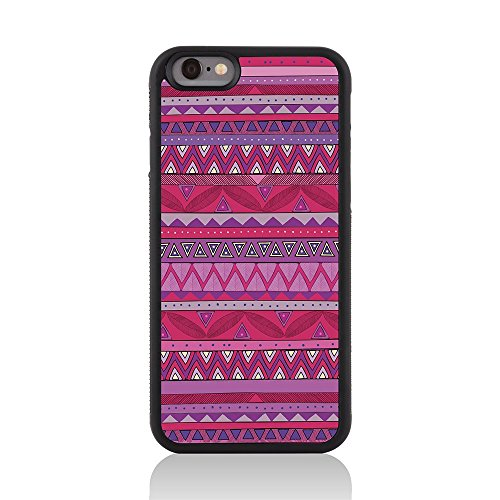 "Call Candy 122-113-106 Printed ""Total Tribal Oh So Mexiko Aztec"" glänzendes Bild harter rückseitige 2D gedruckt Fall für Apple iPhone 6 rose"