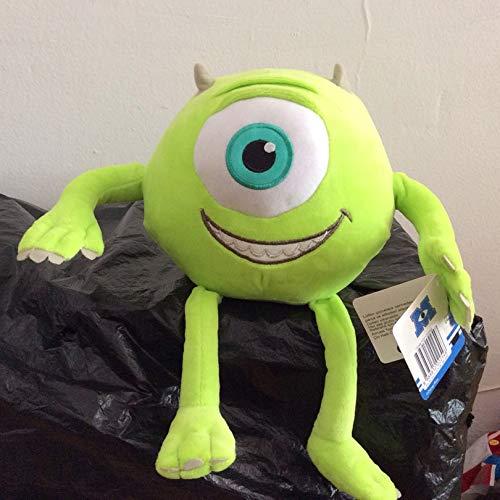 xuritaotao 32 cm Monster Inc Mike Wazowski Plüschtier Monster Universität Gefüllte Weiche Junge Puppe Für Kinder Geschenk