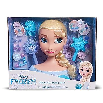 Giochi Preziosi Busto Deluxe Princesa Disney Elsa con 19 Accesorios de Giochi Preziosi España, S.L.