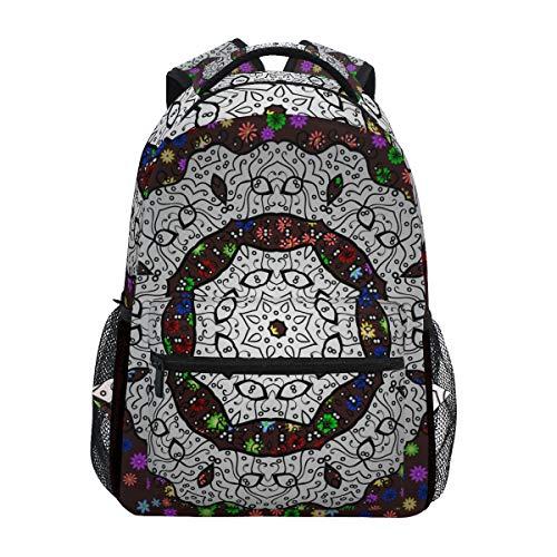 SIONOLY Rucksack,Premium Logo mit Farbverlauf Business Identity,Neu Lässige Daypack School Bookbag Verstellbare Umhängetaschen Reiserucksack -