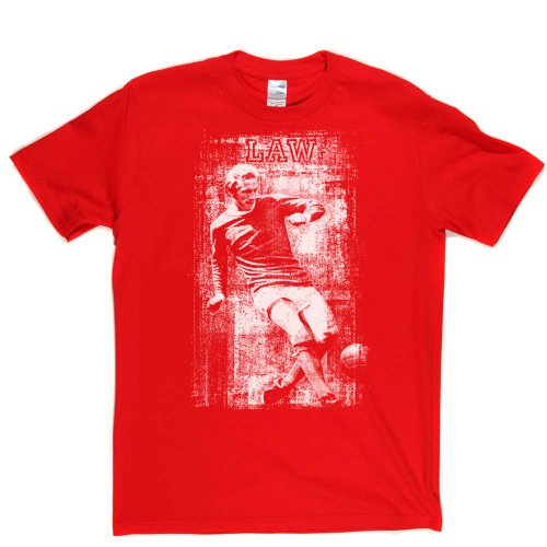 Denis Law Scottish Football Footy Lads Tee T-shirt Rot