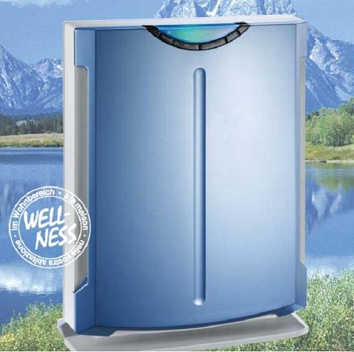EWT Clima Comfort 152AP, blau, silber-Luftreiniger