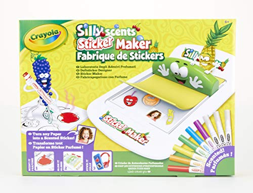 CRAYOLA 74-7261-e-000 Silly Scents Aufkleber Maker
