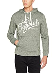 Jack & Jones Jorpanther Hood Noos, Sweat-Shirt à Capuche Homme