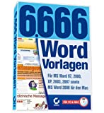6.666 Word-Vorlagen