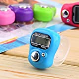RB Mall Mini Hand Tally Counter Finger Ring Digital Electronic Head Count, JAPA Counter (Set of 5)