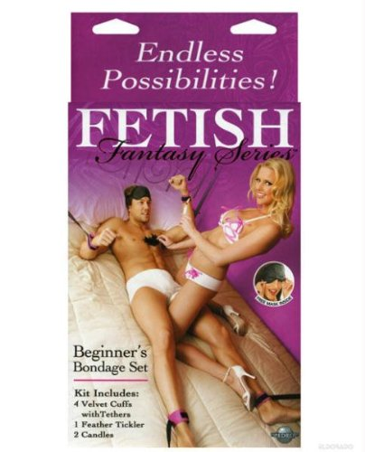 Pipedream - Fetish Fantasy - Beginners Bondage Set Purple, 1er Pack