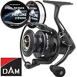 Dam Quick 5 FD Spinnrolle Angelrolle gratis Pro Line x-Treme Schnur