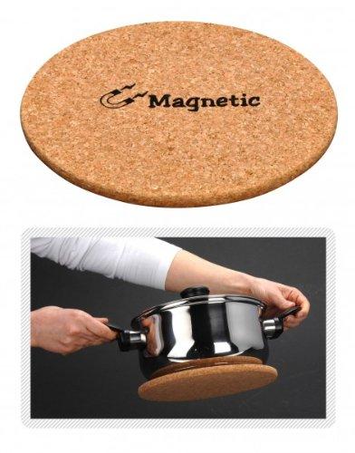 Quantio Salvamanteles magnético Corcho-21