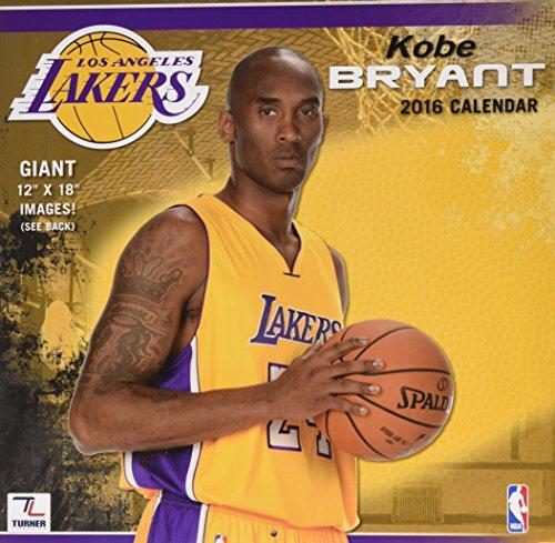 Los Angeles Lakers Kobe Bryant 2016 Cale por Perfect Timing