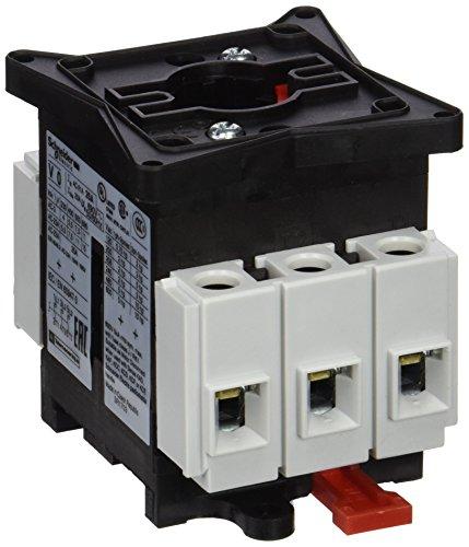 Preisvergleich Produktbild Schneider VCF0 not-aus/Hauptschalter, 4-Loch Bef, 3P, 690V, 25A, Griff rot abschließbar