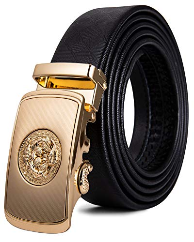 Dubulle Mens Black Belt Designer...