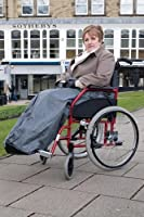 Wheelchair Leg Cosy, body snug, fleece lined cover