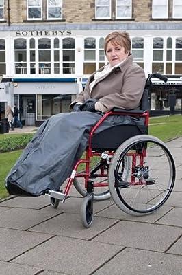 Wheelchair Leg Cosy, body snug, fleece lined cover