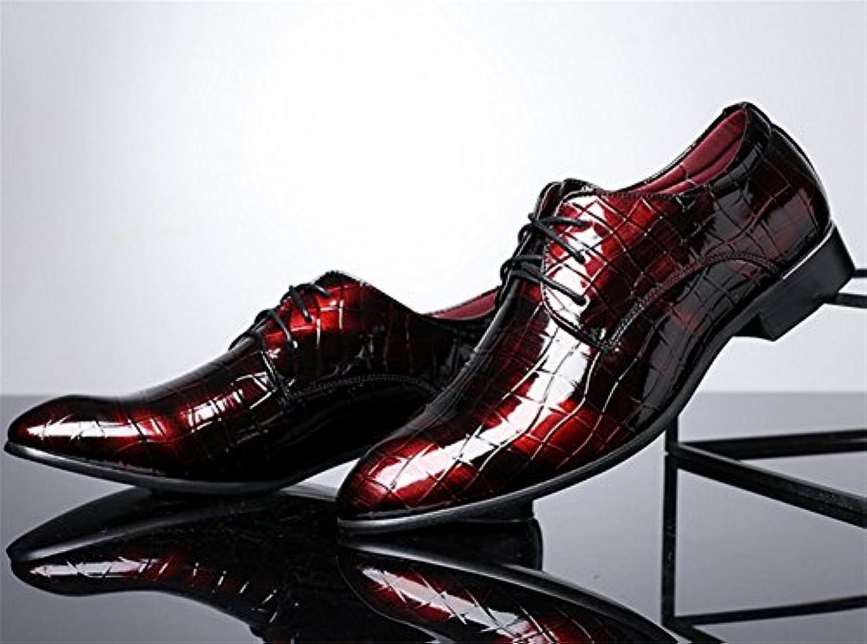 XIE zapatos de los hombres ocasionales de gran tamaño forman los zapatos de los hombres de negocios tendencia... -