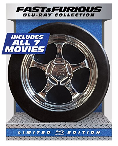 fast and furious 1 7 blu ray Fast & Furious 1-7 Collection - Limited Edition (Blu-ray + DIGITAL HD with UltraViolet)