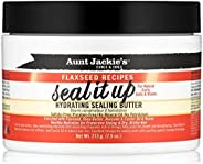 Aunt Jackie's Curls & Coils Flaxseed recipe Seal it Up 8oz