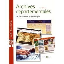 Archives départementales: Les basiques de la généalogie
