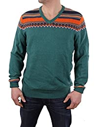 Timberland Pull Hommes Knox River Fairisle V-Neck Taille M