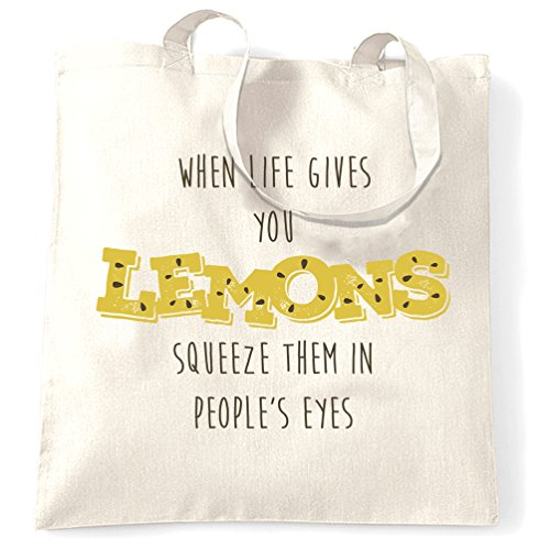 when-life-gives-you-lemons-squirt-them-in-peoples-eyes-mean-pun-shopping-carrier-tote-bag
