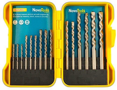 NOVOTOOLS NTPDBS1032FW//7 Set di punte piatte per legno 7 pezzi