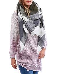 bf8b3e79513 Amazon.fr   Echarpe Oversize - Femme   Vêtements