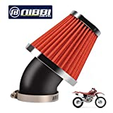 NIBBI RACING PARTS - Filtro de aire de alto rendimiento para moto, 48 mm, compatible con ATV SSR TTR Dirt Bike Pit Bike Mini Bike GY6 AJS