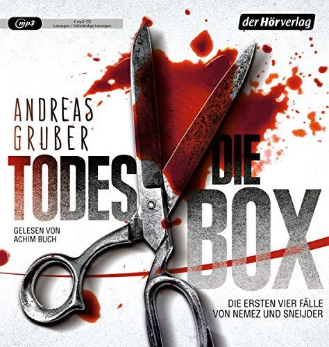 Die Todes-Box. Die ersten vier Fälle von Nemez und Sneijder: Todesfrist - Todesurteil - Todesmärchen - Todesreigen - Thriller