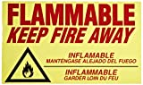 Eagle C-97 Flammable Keep Fire Away Decal by Eagle