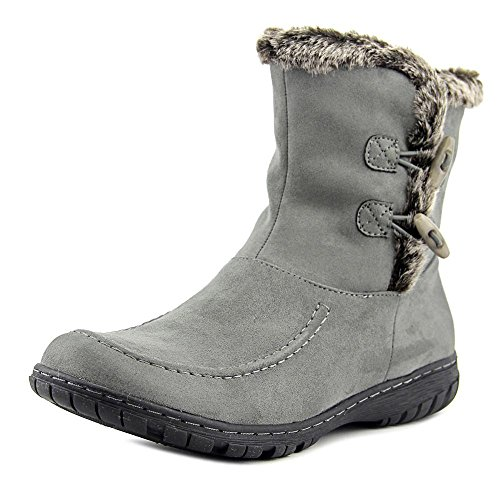 Naturalizer Refinery Damen Rund Stoff Mode Mitte Calf Stiefel Grey