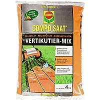 COMPO SAAT Vertikutier-Mix, Rasensamen, Rasendünger und Bodenaktivator, 4 kg, 133 m²