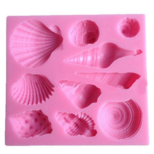 Klein Muscheln Silikonform Form Silikon Kuchenform Keksform Pralinenformen Fondant Silikonform Kleine Muschel Ausstecher