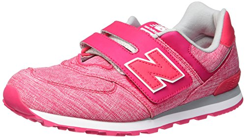 New Balance Unisex-Kinder Sneaker, Violett (Purple/White), 35.5 EU (3 UK) New Balance Sneakers Velcro