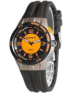 Klassische analoge Armbanduhr XONIX für Damen und Kinder WR100m nickelfrei, XPA8GD8WEQ/2