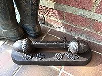 Acorn Boot Scraper - Garden Foundry