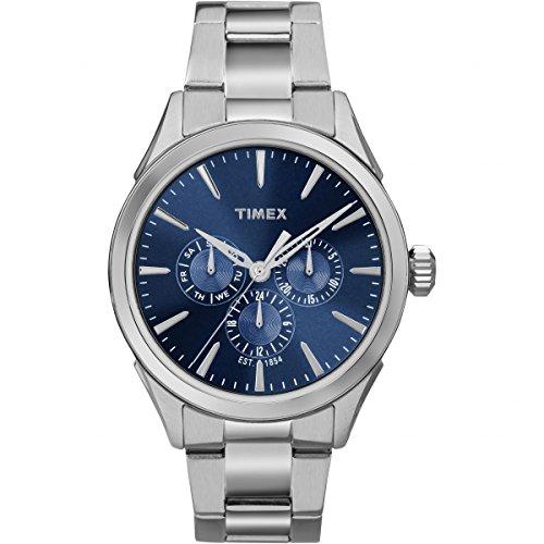 Timex Orologio Analogueico Quarzo Uomo con Cinturino in Acciaio Inox TW2P96900
