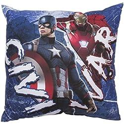 Capitán América Guerra Civil de cojín cuadrado