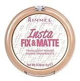 Rimmel London Insta Fix & Matte Powder, Transparent, 8 g