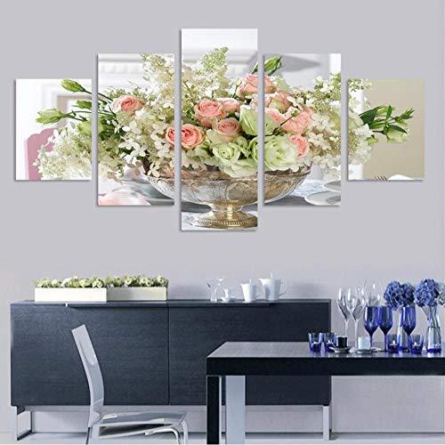 JKXIANSHENG Image De Mur Papillon Violet Imprimé Haute Définition dans l'affiche De Décoration De Maison d'art De Mur du Salon