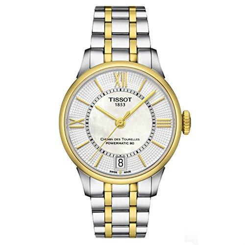 Ladies Tissot Chemin Des Tourelles Automatic Watch T0992072211800