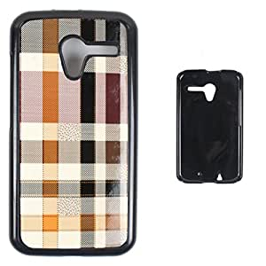 DooDa - For Panasonic P50 Idol Snap-on Hard PU Leather & TPU Plastic Shoulders Case Cover, Fancy Fashion Designer With Full Protection Of Pouch