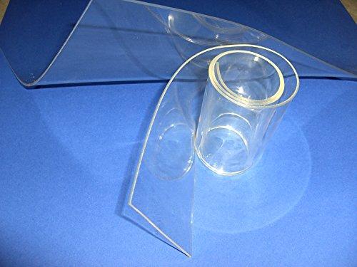 plastica Various Colours Copertura protettiva trasparente per tavolo da 2/mm e di 90/cm larghezza la lunghezza pu/ò essere scelta 100 x 90 cm