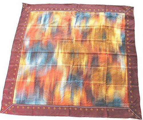 longchamp-seidentuch-89-x-89cm-metallic-braun-scarf