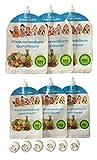 6er Set – Wiederverwendbare Quetschbeutel – BPA & PVC frei – Baby Klein-Kinder selbst mit gekochten Essen Gemüse Brei versorgen – Gefrierfach & Geschirrspülfest - Ernährung - 3x180ml + 3x400ml