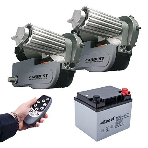 Preisvergleich Produktbild Carbest Cara-Move automatische Rangierhilfe Set inkl 40 Ah Batterie,  Ladegerät max Last 2250Kg 1 &2 Achser Wohnwagen