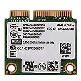 Richer-R Tarjeta de Red Adaptador Inalámbrica para PC/Laptop Portátiles,WiFi Tarjeta Wireless Universal para Chipset HM5/GM45/PM45/HM57,para Mini Ranura PCI-E DELL/ASUS/Toshiba/Acer(2.4GHz + 5GHz)
