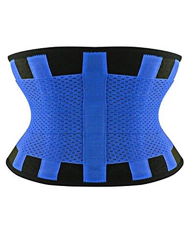 Burvogue Damen Taillenmieder Blau