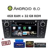GÜMÜ-PX5PROAT07-Autoradio BMW Serie E90-E91-E92-E93 Android 8.0 Octa Core + 4GB RAM+ 32GB ROM GPS Navigation 7 Zoll Touchscreen WiFi, Bluetooth, USB-Port
