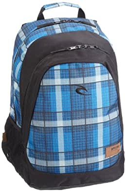 Rip Curl  Pro School Check Backpack, Bagages hommes - bleu,